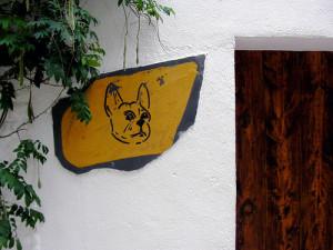 Entrada del restaurante el Bullí.