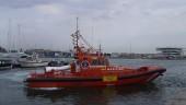 vista previa del artículo Los tripulantes de un velero fueron rescatados ayer en Roses