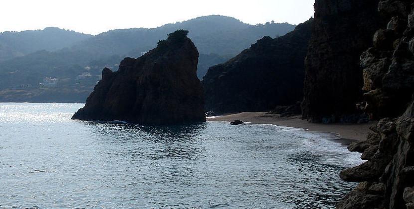 Playa en Gerona
